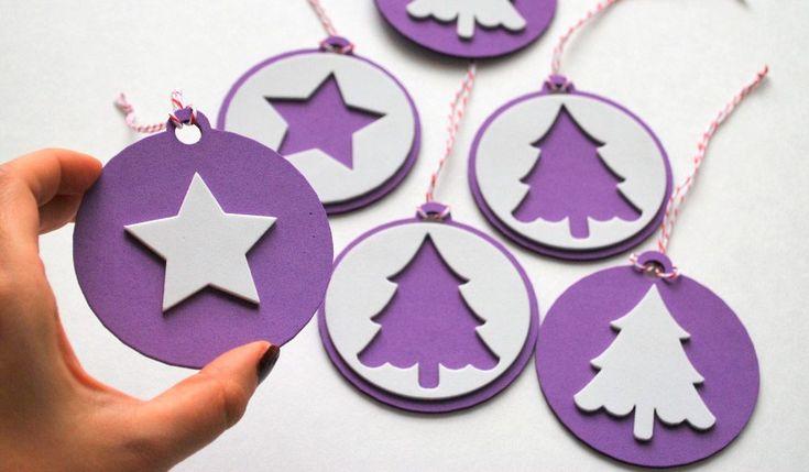Adornos de Navidad de Goma Eva