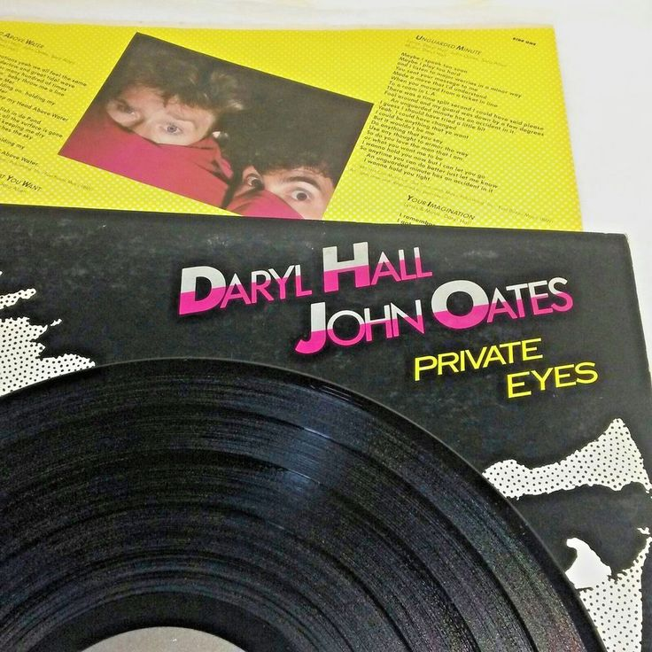 33 RPM LP Record Daryl Hall John Oates Private Eyes 1981 RCA Records AFL1-4028