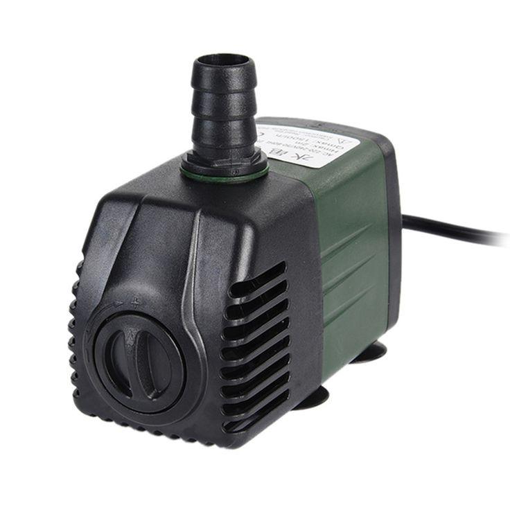 1500L/h Aquarium Pump Mini Electric Water Pump Aquarium Submersible Air Water Pump