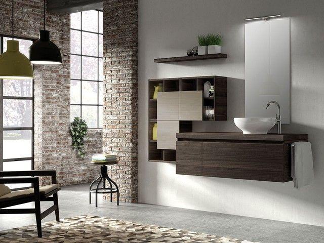 50 best mobili bagno componibili qubo images on pinterest ark bathroom tubs and bathtubs - Iperceramica mobili bagno ...