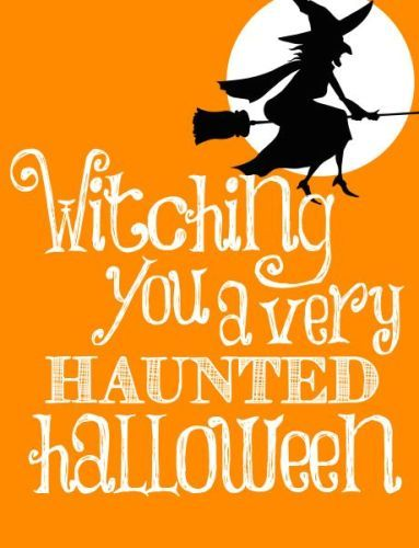 13 best Happy Halloween Pictures, Funny Witches, Creepy Vintage ...