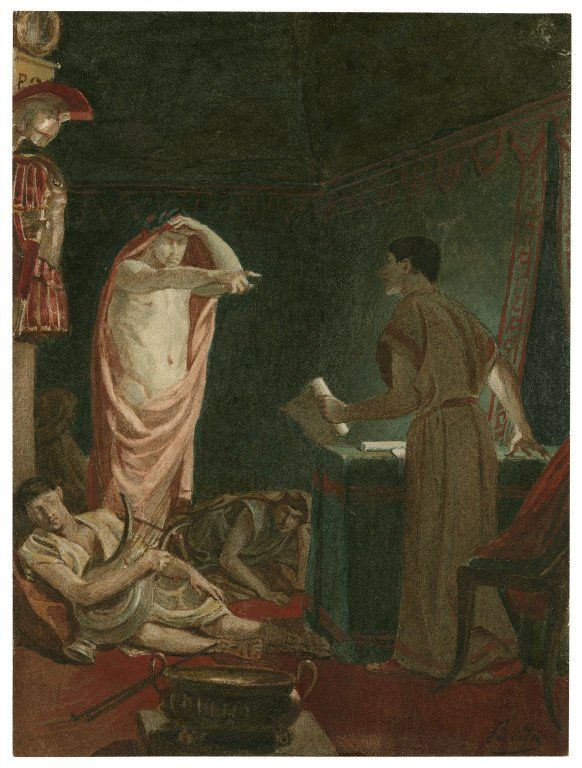 An analysis of the scenes in julius caesar a play by william shakespeare