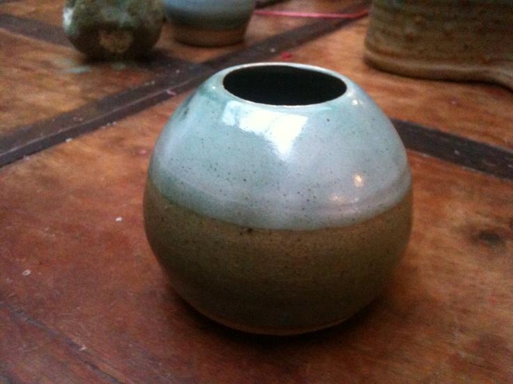 Pretty little round vase