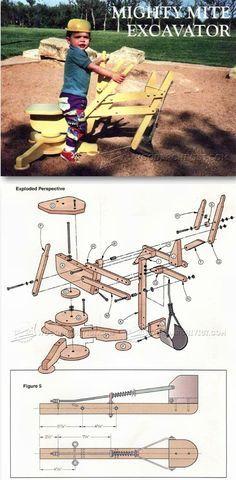 Sandpit Digger Plans - Children's Outdoor Plans and Projects   WoodArchivist.com