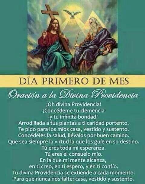 Oración a la  Divina Providencia. No te olvides de tu pueblo #Venezuela