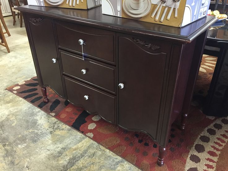 Dark brown dresser- $225 #forsale #mk #consignment #sale #cheap #dresser #bedroom #home #house #apartment #design #designer #decor #homedecor #homedesign #dresser #wood #brown #black #local #store