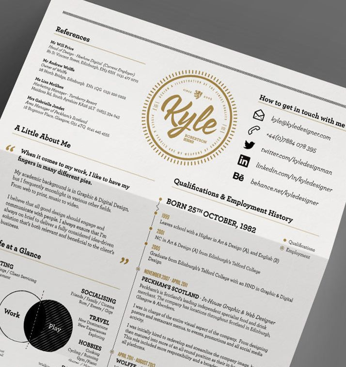50 inspiring resume designs and what you can learn from them
