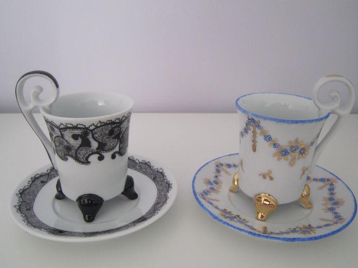 Lin Van Porcelaines Café et thé, services, tasses à café, tasses à thé, théières, mugs