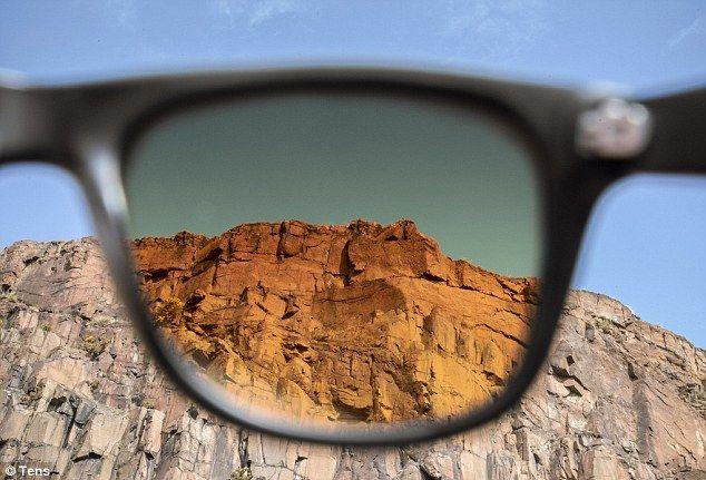 Gafas Tens que muestran todo como a través de un filtro de Instagram  #instagram #gafas #product #glasses