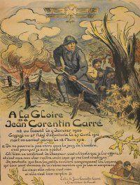 Jean-Corentin Carré, 1919, by Victor Prouvé. Archives départementales des Bouches-du-Rhône