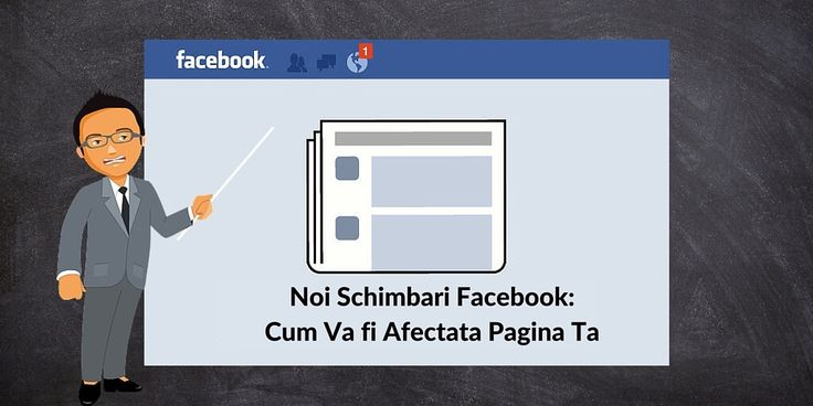Noi Schimbari Facebook: Cum Va fi Afectata Pagina Ta
