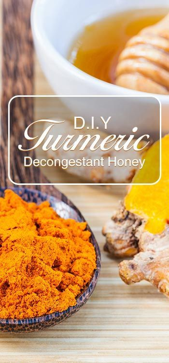 This Turmeric Decongestant Honey helps you decongest all kinds of mucus.