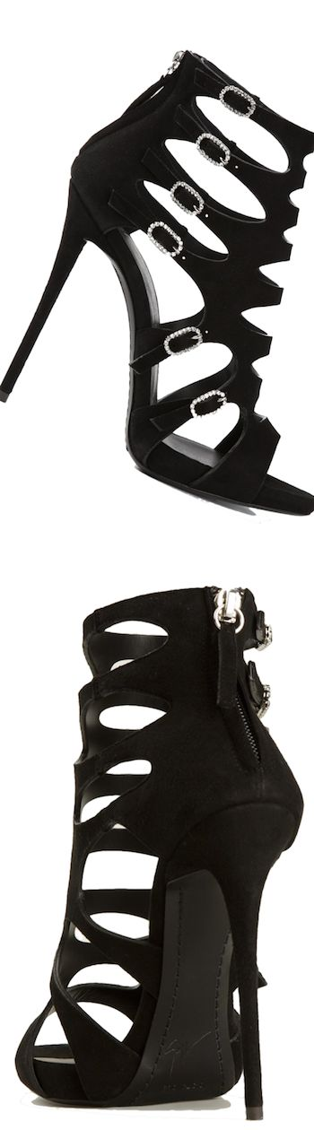 GIUSEPPE ZANOTTI DESIGN caged sandals LOOKandLOVEwithLOLO: Step it up with A Statement-Making Sandal or Pump!