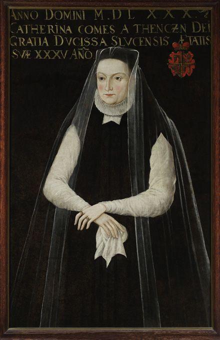 """Portrait of Catherina Radziwill née Teczynska"", 1580, POLAND  20110610_ZV_105_lg.jpg (440×680)"