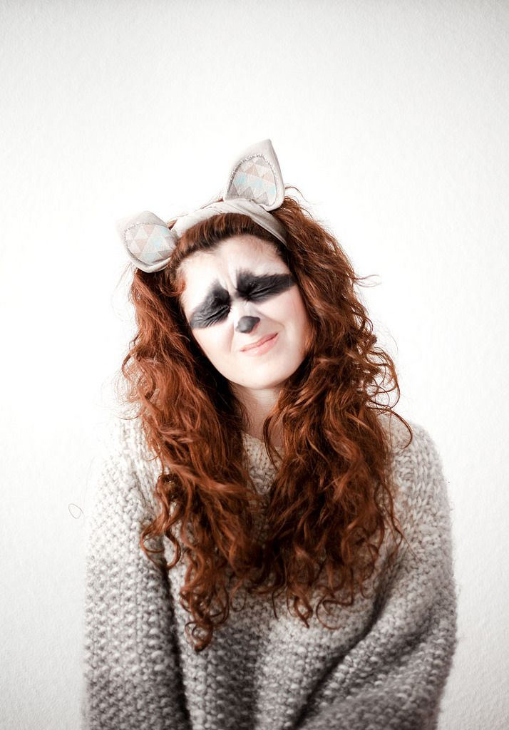 DIY Disfraz de mapache · DIY Raccoon costume · Fábrica de Imaginación · Tutorial in Spanish