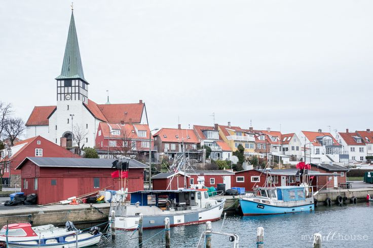 only one harbor like this one - Bornholm, Ronne