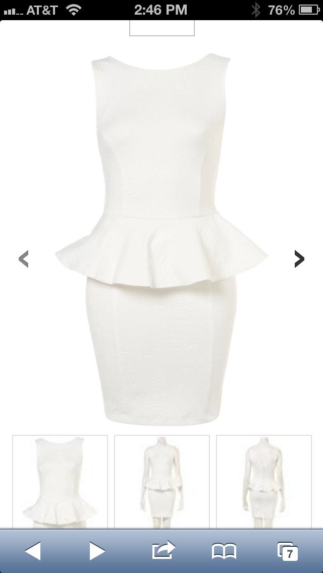 Possible civil ceremony dress