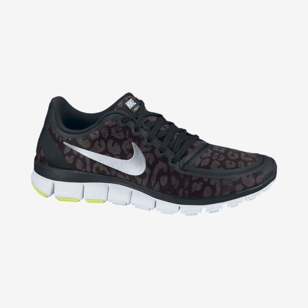 Nike Performance Women's Shoes FREE 5.0 - Trainers - black/volt/hyper pink-anthracit