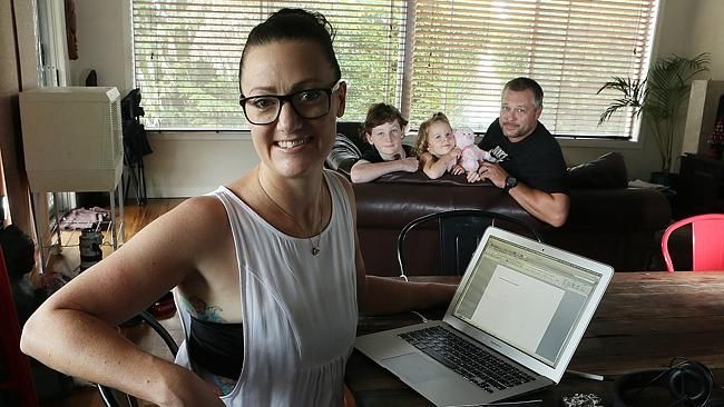 Smutty mummy as former NSW cop turns porn author