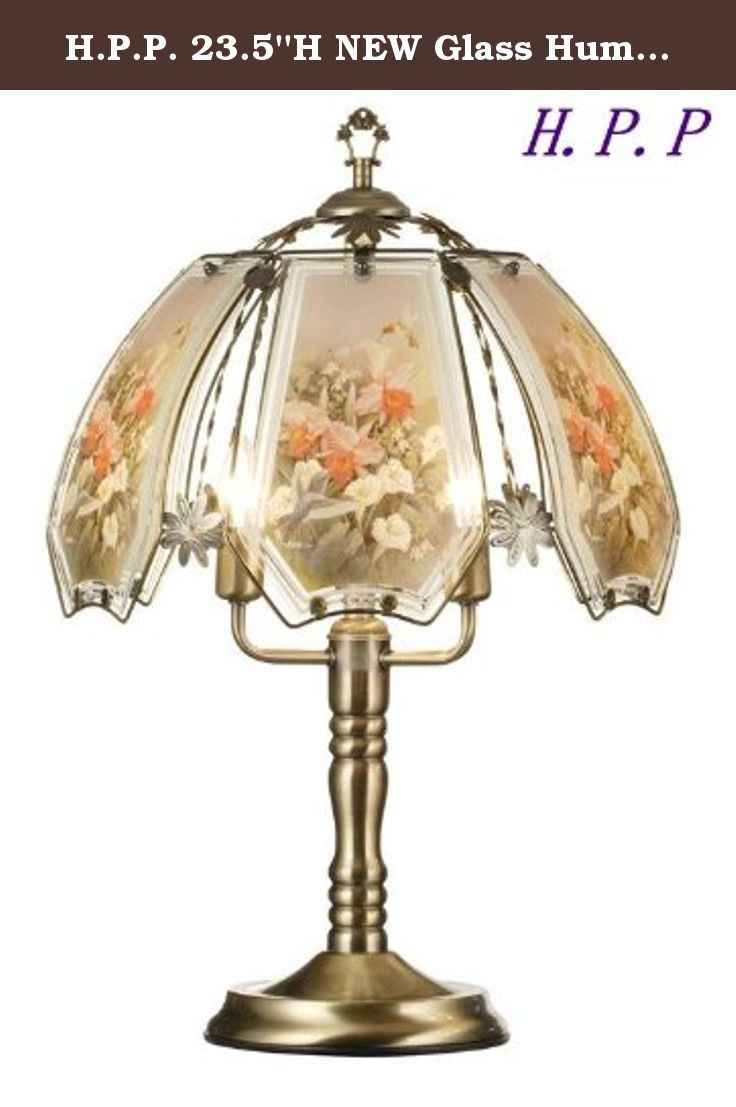 3904 best table lamps lamps shades lighting ceiling fans hpp 235h new glass hummingbird touch table lamp w gold finish base aloadofball Gallery
