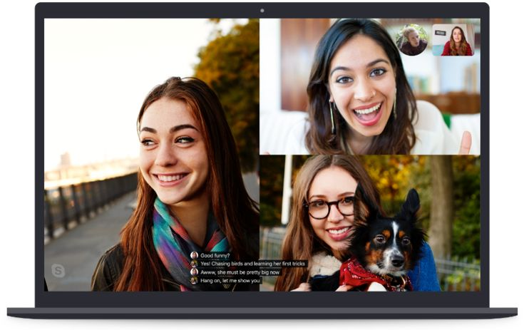 Skype captions Ios update, Android one, Chrome apps
