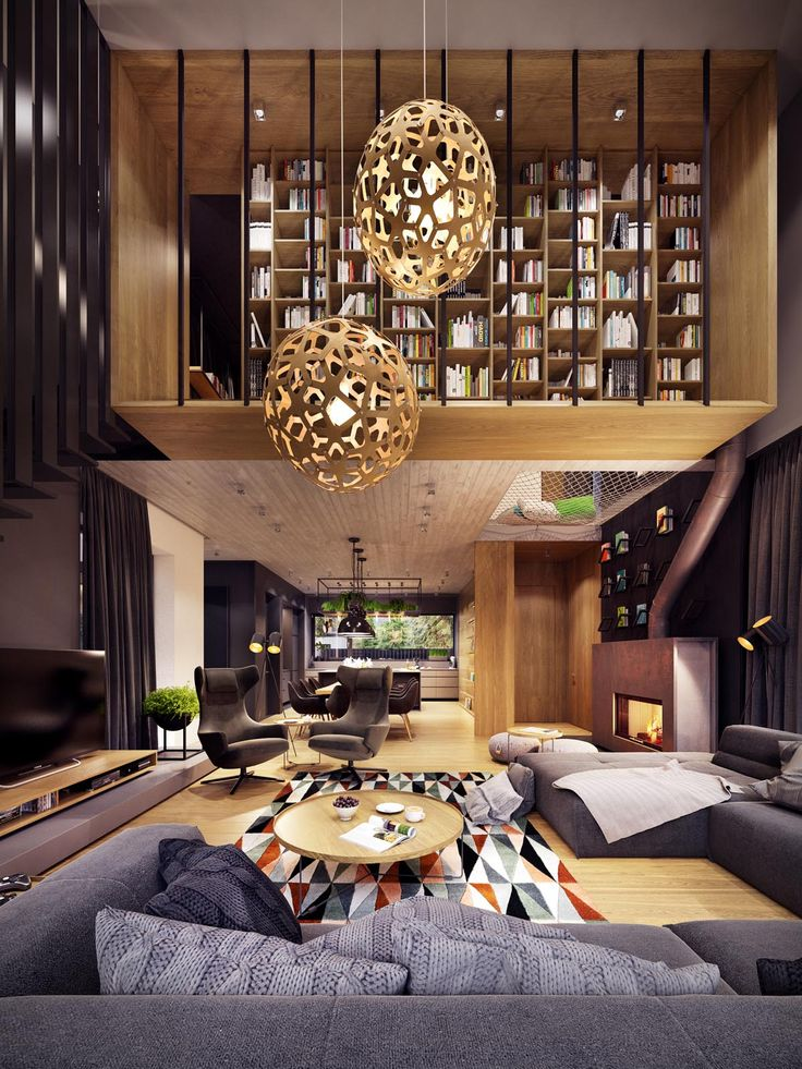 High Quality A Creative, Rustic Home With Retro Geometric Features