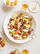 Salade de poires et de raisins