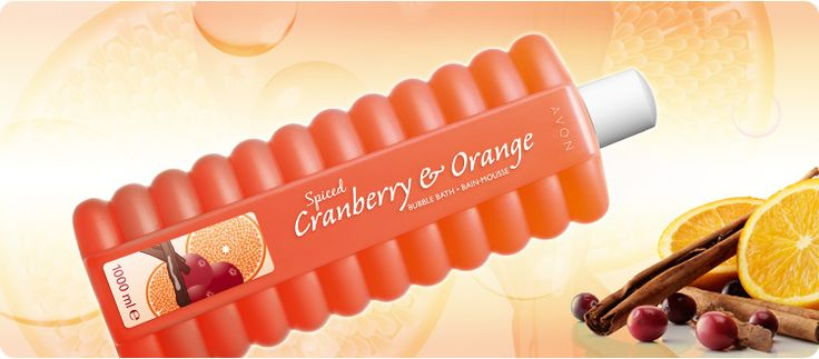 AVON Bubble Bath Badeschaum Cranberry-Orange