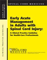 Early Acute Management in Adults with Spinal Cord Injury  and other electronic clinical practice guidelines