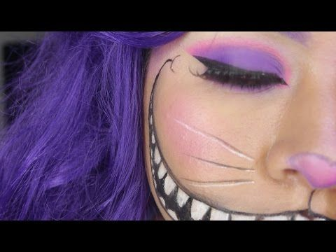Maquillaje de Gato de Cheshire para Halloween – Canal Femenino