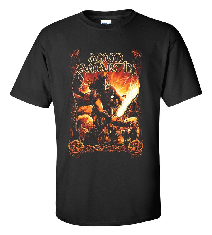AMON AMARTH T-shirt M/L/XL/2XL/3XL Clothing Tshirt
