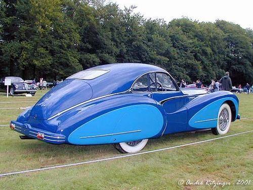 Saoutchik Talbot Lago T26 Grand Sport Coupe 1947   ===>  https://de.pinterest.com/garethgorman1/alvis-bristol-talbot-jowett-cars/