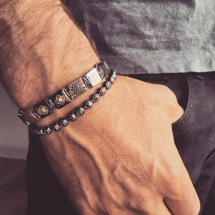 Gentlemen, there is hope beyond the watch and the wedding band. Complement with Shamballa bracelets. #mensstyle #mensjewellery #shamballajewels #sydney #sydneyfashion #trend