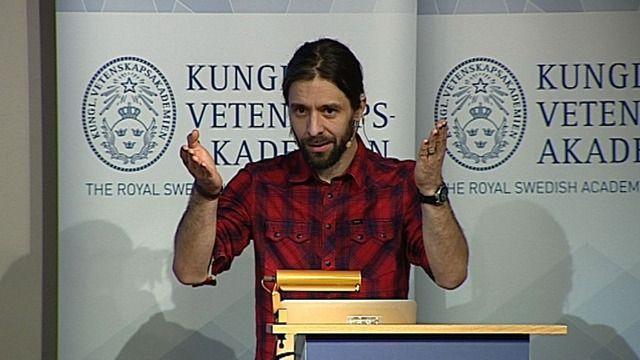 Daniel Barker berättar om sitt arbete! UR Samtiden - Ingvar Lindqvistdagen 2014: Flipped classroom - ett annorlunda arbetssätt
