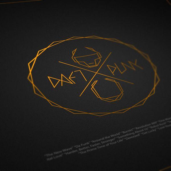 Daft Punk Branding by Aykut Aydoğdu (via From up North)