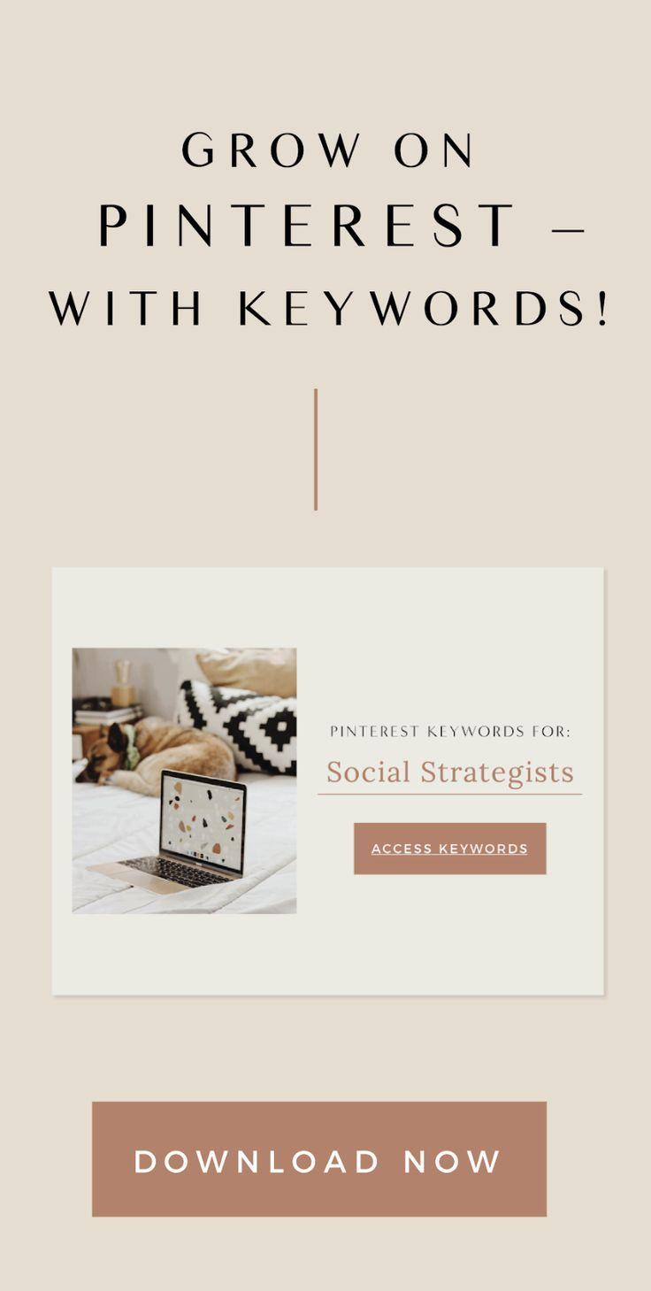 Pinterest Keywords For Social Strategists Web Design Quotes Social Media Tips Free Web Design