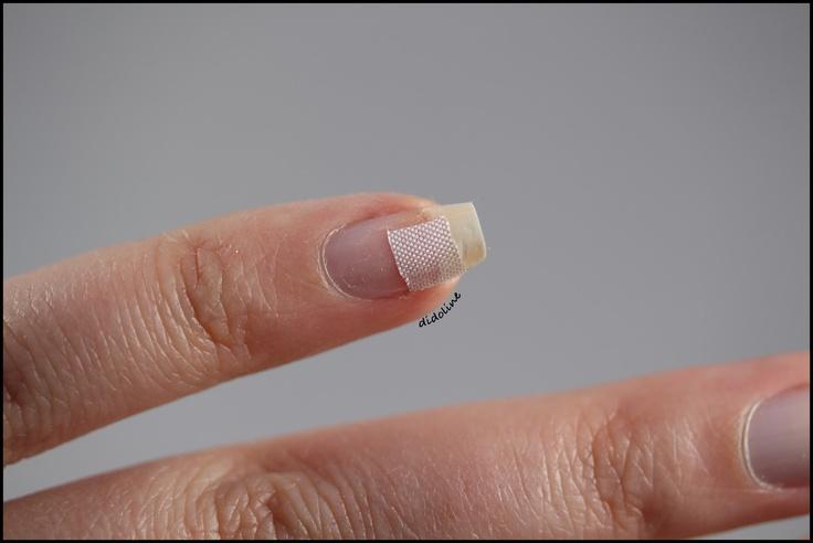Didoline's Nails: Comment réparer un ongle fissuré avec Peggy Sage?