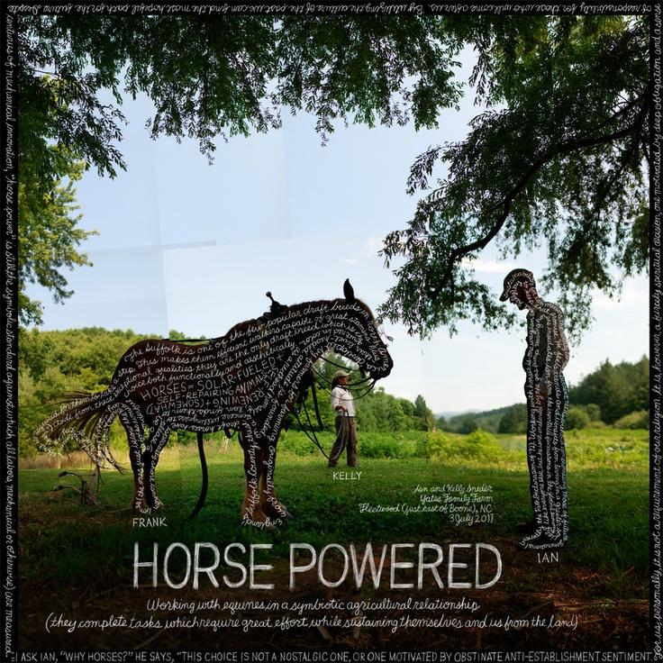 "#148 ""Horse Powered"" by Douglas Gayeton, via 500px: Ian Snider, Yate Families, 148 Horses, Sustainability Projects, Sustainability Farms, Families Farms, Douglas Gayeton, Horses Power, Hors Power"