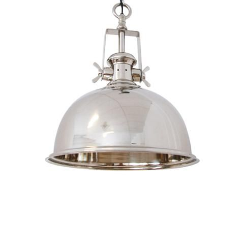 Kennedy Hanging Lamp #MeyerandMarsh