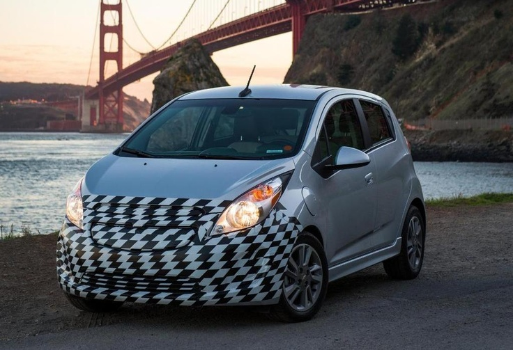 2014 Chevrolet Spark EV Fully Revealed Ahead of L.A. Auto Show Debut