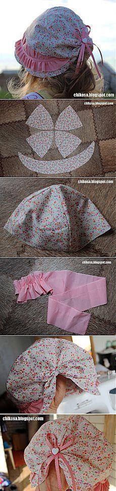 Детская панамка на лето для девочек