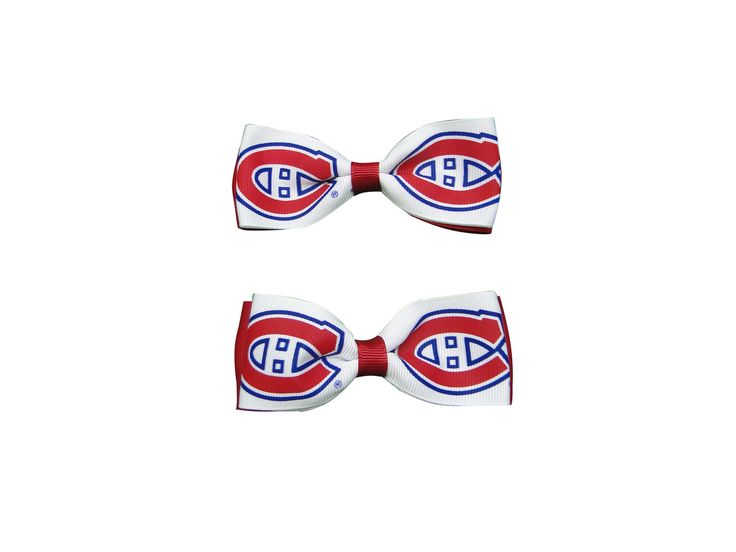 Montreal Canadiens Hair Bow Pair - Sunset Key Chains