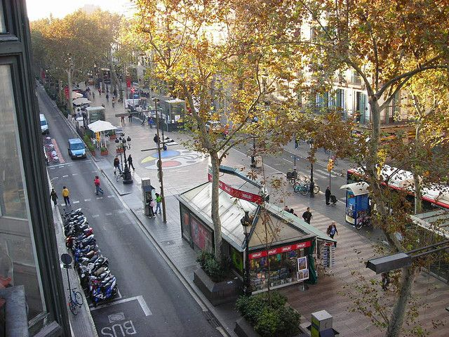 Las Ramblas (Barcelona, España)