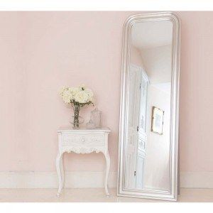 Buy The Beautifully Designed Sterling Silver Free Standing Mirror, By The  French Bedroom Company.