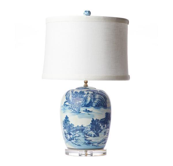 Grande chinoiserie lamp