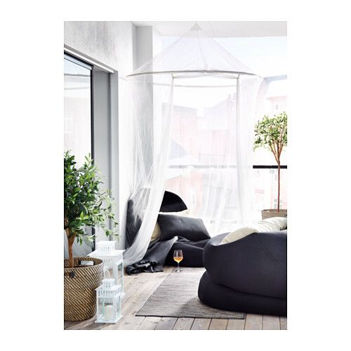 SOLIG white canopy net sold at IKEA $24.99  sc 1 st  Pinterest & The 25+ best Ikea canopy net ideas on Pinterest | Ikea canopy ...
