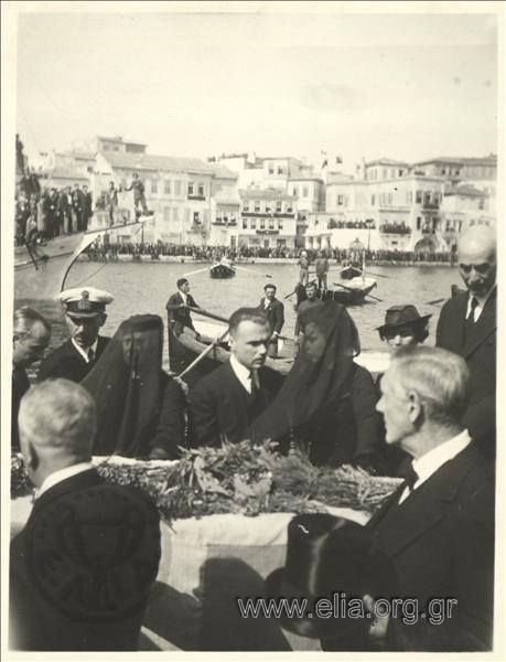 Κηδεία E. Βενιζέλου...1936 Funeral of Eleftherios Venizelos (Chania)...1936 ELIA archives
