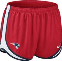 New England Patriots Women's Red Nike Dri-Fit NFL Tempo Short…need