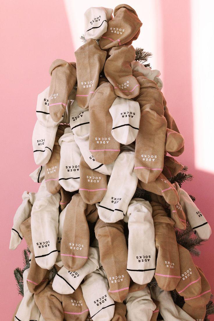 Basic ribbed socks tree ADER image #ader#socks#club