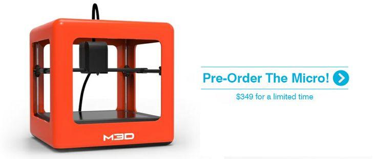 Red Micro 3D Printer